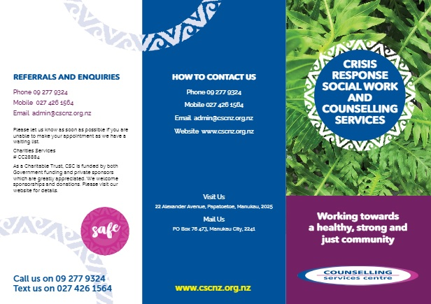 Vacancies Counselling Services Centre